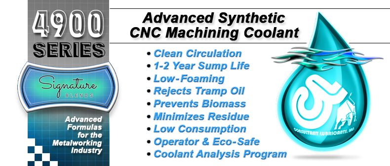 4900 Advanced Synthetic CNC Machining Coolant