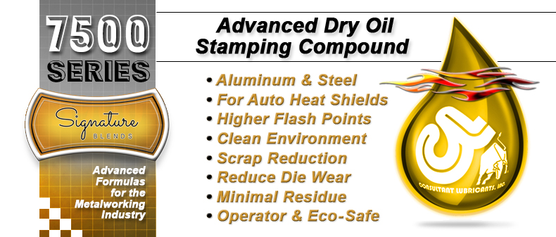 7500 Advanced Dry Oil Stamping Compound
