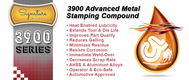 3900 Signature Blend Advanced Synthetic Metalstamping Lubricant Compound